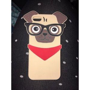Accessories - iPhone SE/5s/5c Pug Case